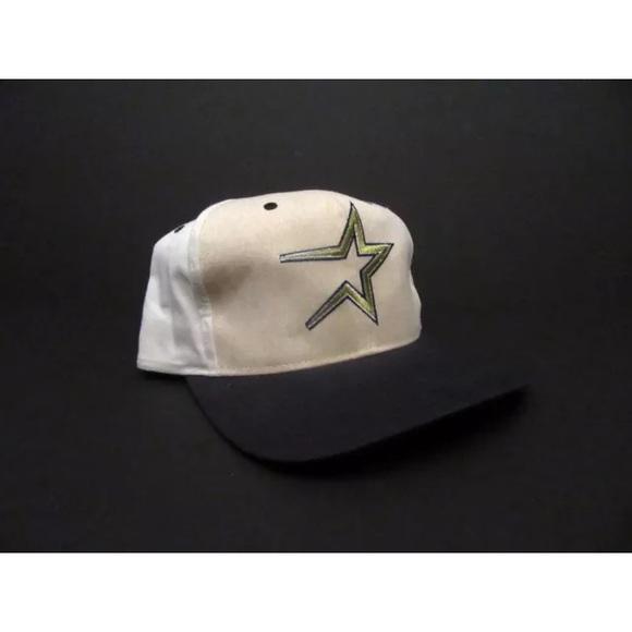 bc871447f NWT Vintage Houston Astros Snapback Hat Cap MLB NWT